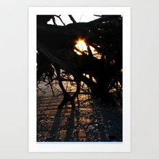 Wake up from your dream Art Print
