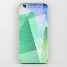 Whacky Style - Digital Geometric Texture iPhone Skin