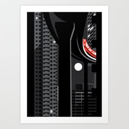 elevated Art Print