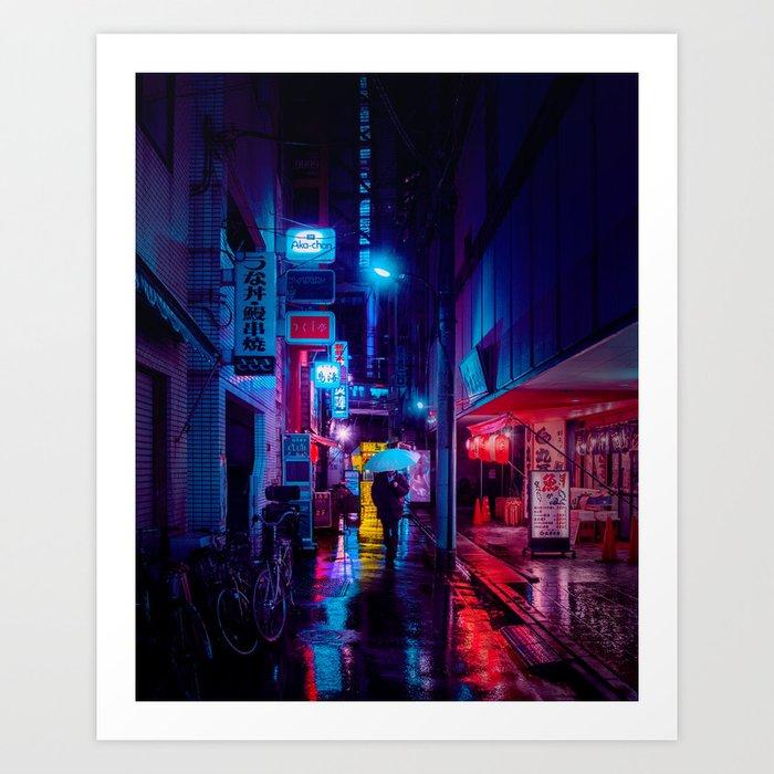 Tokyo Nights / Minutes To Midnight / Liam Wong Kunstdrucke