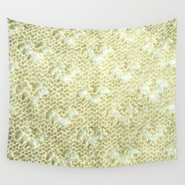 Lace knitting detail Wall Tapestry