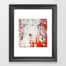 SCRAPED 2 Framed Art Print