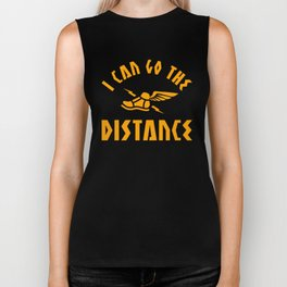 I Can Go The Distance Biker Tank