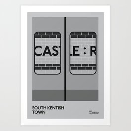 Off The Map | South Kentish Town Art Print