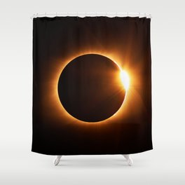 The Eclipse (Color) Shower Curtain