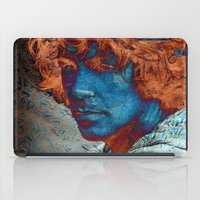 caleb troy iPad Cases featuring Troy by Robin Curtiss