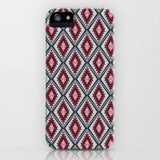 Colorful Diamonds and Triangles - Joie De Vivre iPhone (5, 5s) Slim Case