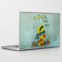 monster Laptop & iPad Skins featuring Monster by Catru