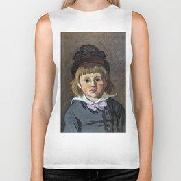 Portrait de son fils Jean en bonnet à pompon, Claude Monet Biker Tank