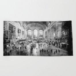 Grand Central Terminal Beach Towel