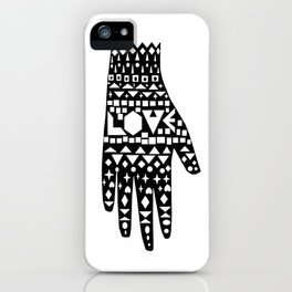 Give a Love iPhone Case