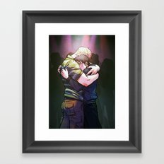 William and Theodore 18 Framed Art Print