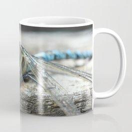 Brachytron pratense -  Hairy Dragonfly. Coffee Mug