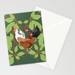 12 Days of Christmas: Three French Hens Stationery Cards