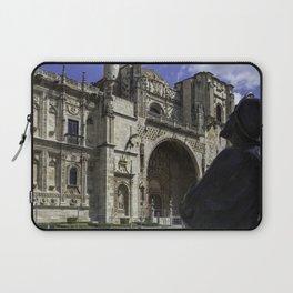 Camino Pilgrim Leon Spain Laptop Sleeve