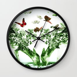 Deer-licious Wall Clock