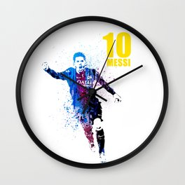 Sports art _ Barcelona Wall Clock