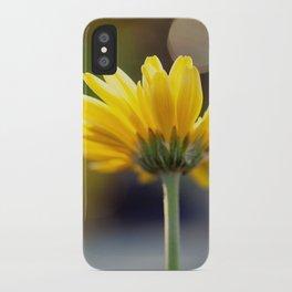 Yellow Gerber Daisy iPhone Case