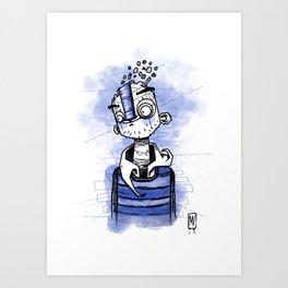 happy man Art Print