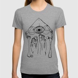 Feet Bones + Eye T-shirt