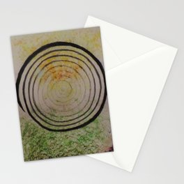 Going towards the center Stationery Cards