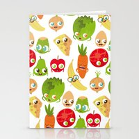 food Stationery Cards featuring Food by Peerro