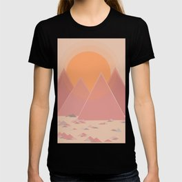 The quiet mountains T-shirt