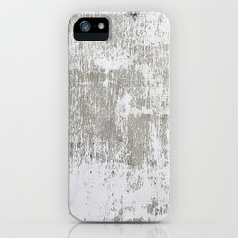 Vintage White Wall iPhone Case
