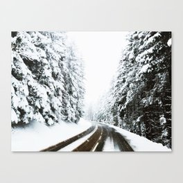 On The Way To The Summit Canvas Print