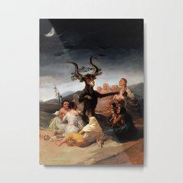 Francisco de Goya - Witches' Sabbath 1798 Metal Print