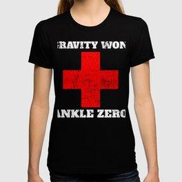 Broken Ankle Bone  Funny Broken Ankle Bone T-shirt