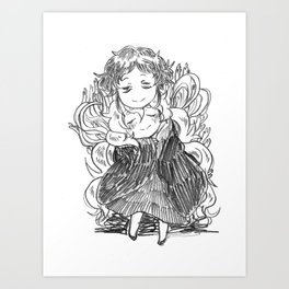 Frei and Charlotte Art Print
