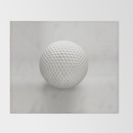Novelty Golf Ball Throw Blanket