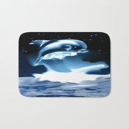 Crystal Dolphin Bath Mat
