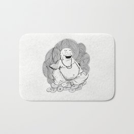 Hotei, Buda , Budda, Budha  Bath Mat