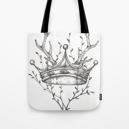 Crown and Stag Tote Bag
