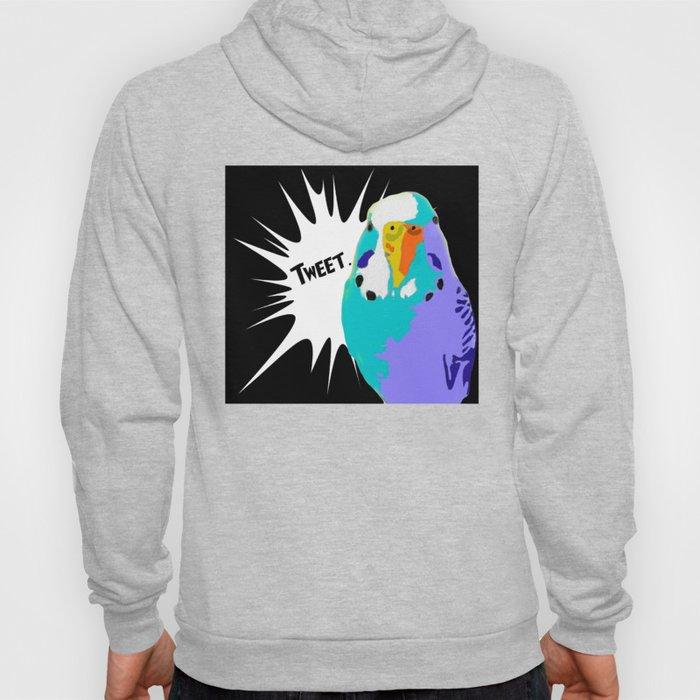 Tweet Keet Parakeet bird Hoody