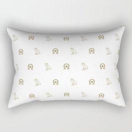 HAW - White Rectangular Pillow