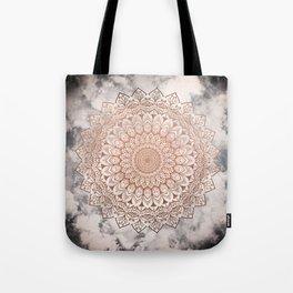 ROSE NIGHT MANDALA Tote Bag