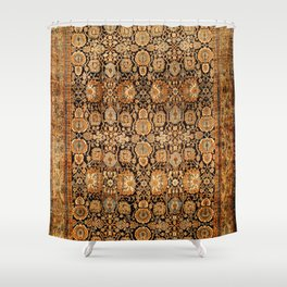 Antique Persian Malayer Rug Print Shower Curtain