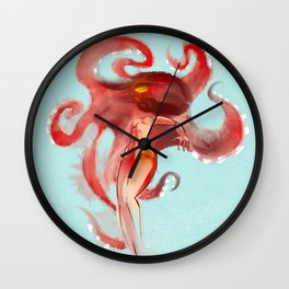 AMORPHOUS OCTOPUS BODY Wall Clock
