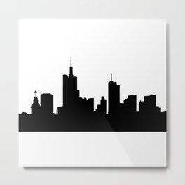 Frankfurt Skyline Metal Print