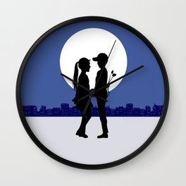 Moonlight promises Wall Clock