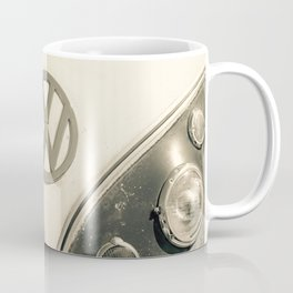 Classic Hipster Van, Photo, Black and White Coffee Mug