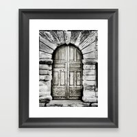 closed#01 Framed Art Print