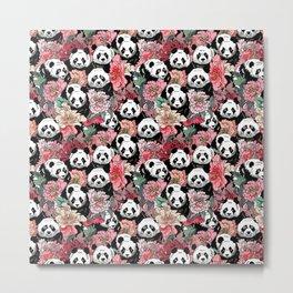 Because Panda Metal Print