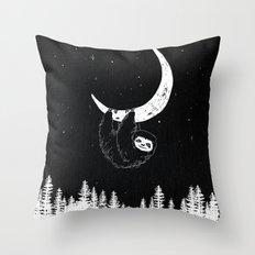 Goodnight Sloth Throw Pillow