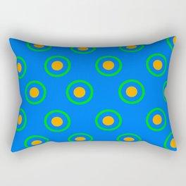 Animal Crossing GracieGrace pattern Rectangular Pillow