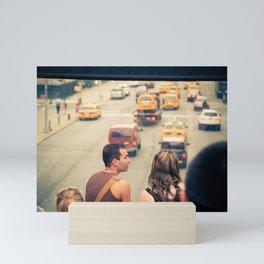The Taxi Show Mini Art Print