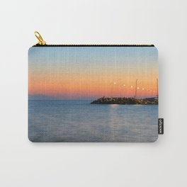 Aegean Bay Sunset Carry-All Pouch
